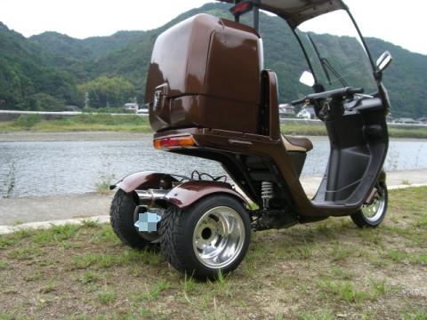 045ジャイロ キャノピー 社外BIGBOX